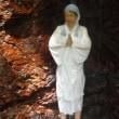 本日、祈りの滝で山主にお下がりになりました。