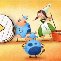 【Googleのロゴ】マリー・アレル 生誕256周年