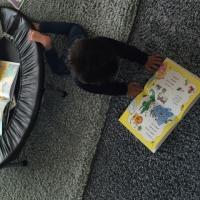 ゴロンと読書