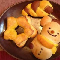 可愛いパンを作る I made a cute animal bread