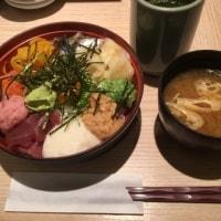 寿司屋のランチメニュー「バクダン丼」