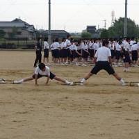 5/25 放課後 生徒会種目の練習