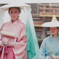 市女笠と烏帽子