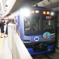 秦 基博デビュー10周年 train (東急東横線の横浜市編成)