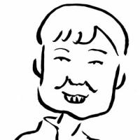 パククネ大統領(似顔絵)
