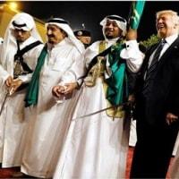 トランプ米大統領  サウジアラビアからイスラエルへ
