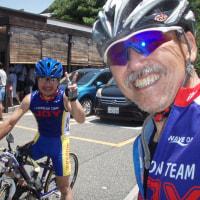 名古屋支部長と自転車ちょい乗り、