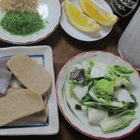 今日のホッピー  静岡おでん風・味噌おでん