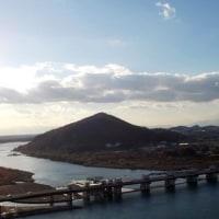 犬山城から眺めた濃尾平野