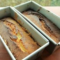 久々にウィークエンド・シトロン (レモン・ケーキ) を焼きました。