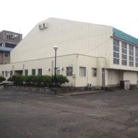 鯖江中学校屋内運動場改修工事完成