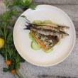 オーガニックの聖地Dalesfordの料理教室(魚)