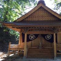日本一の大幟の意非神社〜若桜の街〜鬼ヶ城跡へ♪