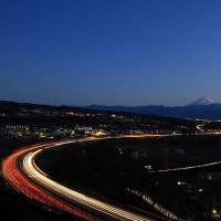 須玉町からの中央道