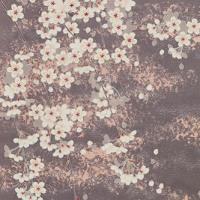 作品紹介 『雪輪に桜』の名古屋帯~