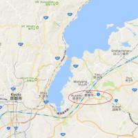 Walking Trip from Kusatsu-Jyuku to Ishibe-Jyuku of Old Tokaido street in Shiga prefecture