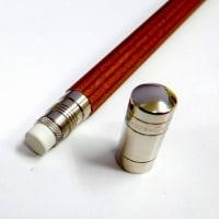 ファーバーカステル 鉛筆「パーフェクトペンシル シルバーコーティング」