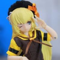 武装神姫サイズ チョコレートメイドセット