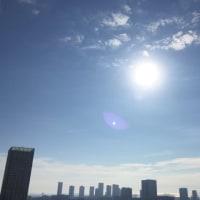 10/16の朝の空
