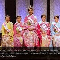 【ハワイ】真栄城さん、プリンセス ホノルル桜祭り