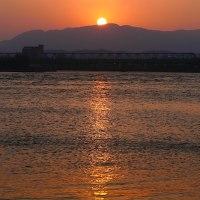 子吉川の朝