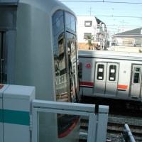 試運転 5080系【奥沢駅:東急目黒線】2003.2.17 撮り鉄 車両鉄