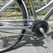 ブリヂストンの最高級通学用自転車「アルベルトロイヤル」です・・・