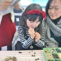 ワークショップ参加の最年少さんは6歳の女の子・なごみの森工房ー今日のワークショップ