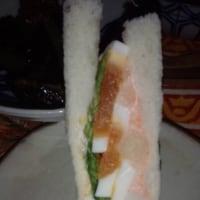 明太ポテトサラダサンド