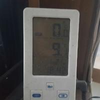 温室の中、1/22の6:00am