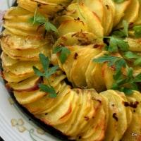 シンプルなじゃが芋のオーブン焼き