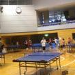 梅雨明けの屋内スポーツ、卓球の日