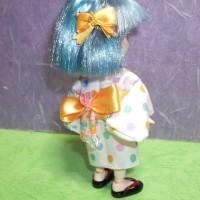 青髪王女の浴衣姿(ネコつき)