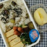 今日のお弁当&セブンド―ナツ
