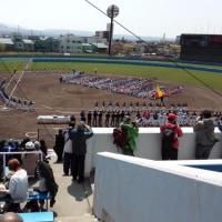 学童少年軟式野球大会開会式