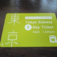 新たな地下鉄一日券