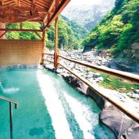 吉野川のラフティングと祖谷の温泉!