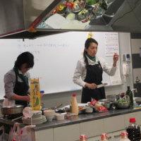 ズッキーニなど栗原産野菜を仙台市内でPR!