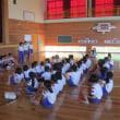 全校朝礼は、表彰と5年生の発表でした! 水泳教室をしました!