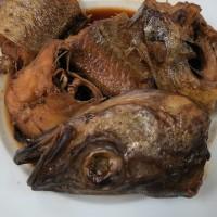 今日のつまみは鱈と鯖