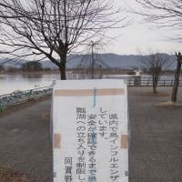 休日出勤後、瓢湖へ!ε=ε=ε=ε=ε=(o- -)oブーン