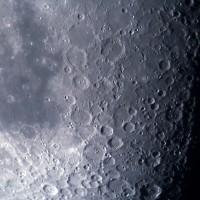月面中央南部