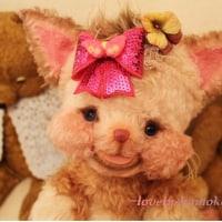 シマシマ☆チシャ猫♪苺サブレちゃん☆クエ~と泣くよ♪…プクネコ(●^o^●)