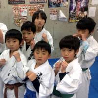 2017.1.24 少年部、今日の練習