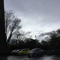 朝は雨、風