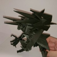 ペーパークラフト:「黒騎紙 想」…黒騎紙に技術と想像のチカラを込めて。
