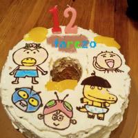 キャラケーキ 誕生日