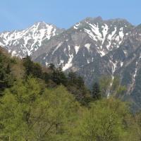 上高地(その2)散策路からの風景