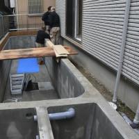 東京都Sさんの新居に2700水槽を設置しました!!