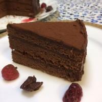 しあわせのチョコレートケーキ